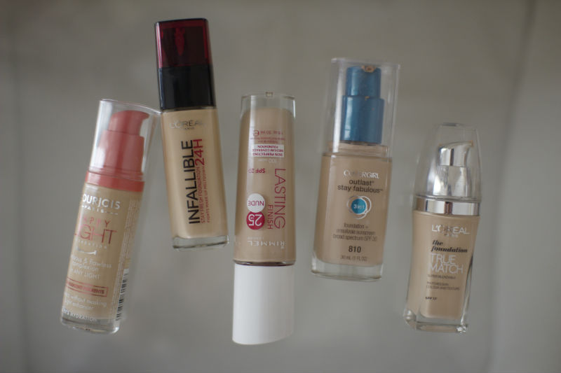 Top Drugstore Foundation Finds The Anna Edit