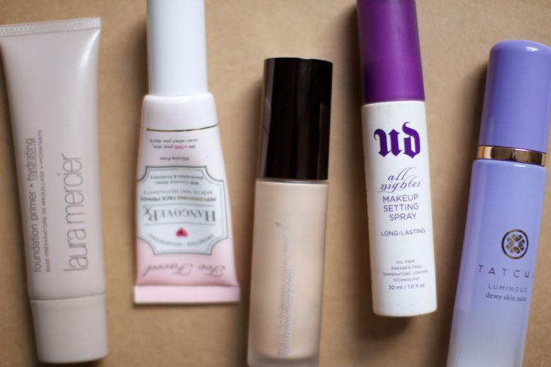 Spray makeup