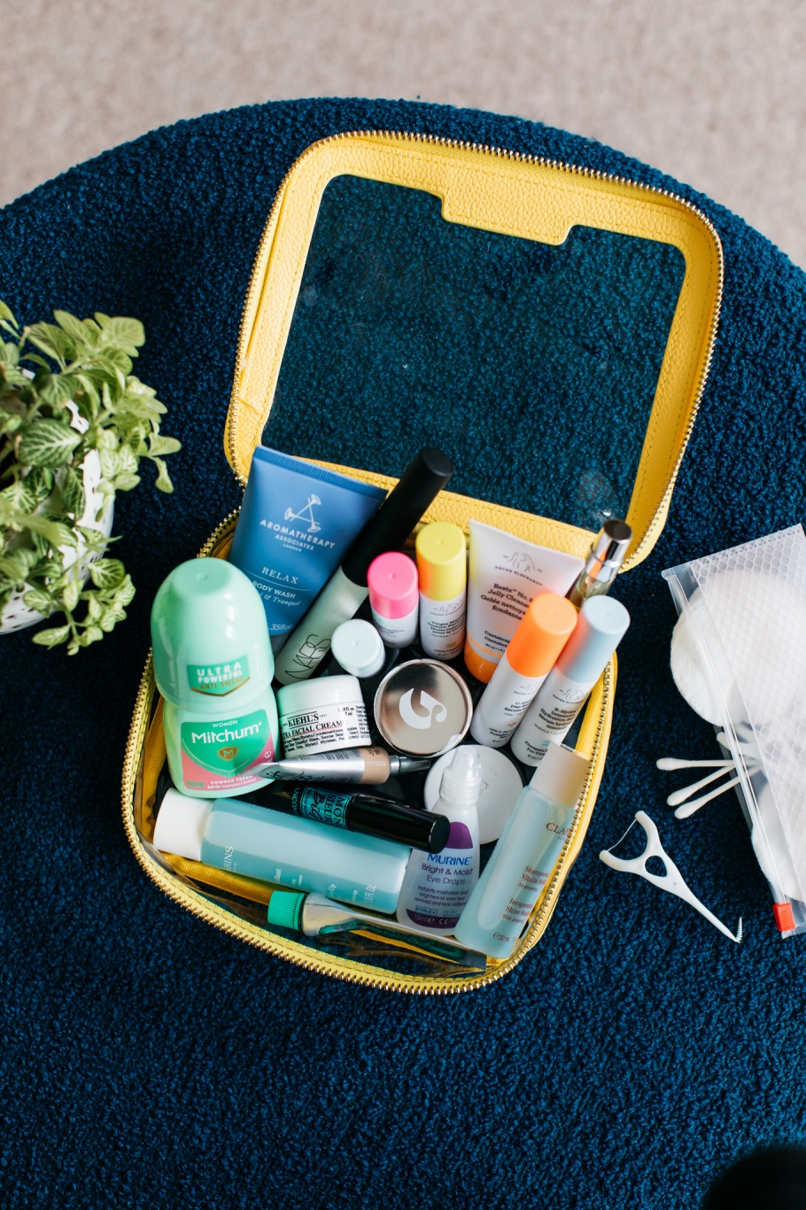 My Cabin Bag Only Weekend Beauty Stash The Anna Edit